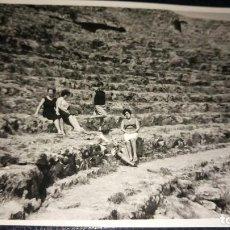 Postales: ANTIGUA FOTOGRAFÍA. SAGUNTO. FOTO AÑOS 60. . Lote 75909459