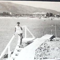Postales: ANTIGUA FOTOGRAFÍA. OROPESA. CASTELLÓN. FOTO AÑOS 60.. Lote 75983947