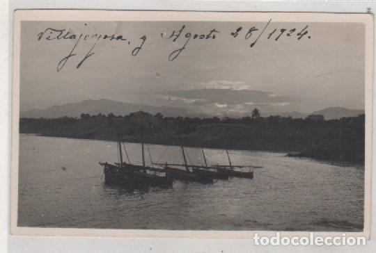 POSTAL FOTOGRÁFICA. VISTA DE VILLAJOYOSA. CIRCULADA EN 1924 ENVIADA A TORO ZAMORA. (Postales - España - Comunidad Valenciana Antigua (hasta 1939))