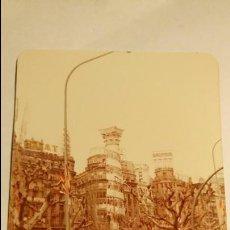 Postales: FOTOGRAFÍA. FALLA DE VALENCIA. PLAZA AYUNTAMIENTO. FOTO FALLAS. AÑO 1980.. Lote 76413287