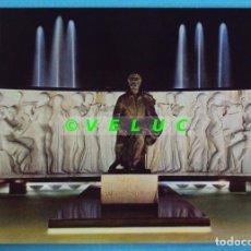 Cartes Postales: VALENCIA: MONUMENTO MAESTRO SERRANO. ESCUDO ORO Nº 1055. A. SUBIRATS CASANOVA. AÑOS 70 SIN CIRCULAR. Lote 37627947