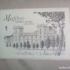 Postales: 16 POSTALES MUSEO BELLAS ARTES VALENCIA DURA VELASCO.SIN USO. Lote 77354697