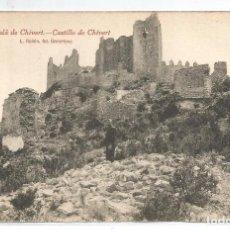 Postais: ALCALA DE CHIVERT .- Nº 9 CASTILLO DE CHIVERT .- FOTO L. ROISIN. Lote 78242617