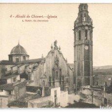 Postais: ALCALA DE CHIVERT .- Nº 4 .- IGLESIA .- FOTO L. ROISIN. Lote 78245809