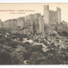 Postais: ALCALA DE CHIVERT .- Nº 10 .- CASTILLO DE CHIVERT .- FOTO L. ROISIN . Lote 78255901