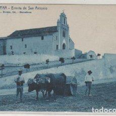 Postales: 6 CULLERA. ERMITA DE SAN ANTONIO. L ROISIN. FOT BARCELONA. EDICIÓN ENRIQUE SANCHIS CLIMENT.. Lote 79708737