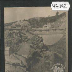 Postales: PANTANO DE BUSEO - FOTOGRAFICA -VER REVERSO -(47.142). Lote 81934764