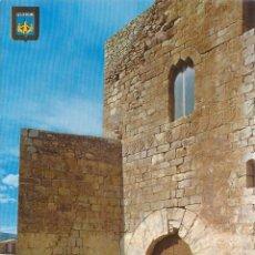 Postales: PEÑISCOLA (CASTELLON) ENTRADA AL CASTILLO - ESCUDO DE ORO Nº 5 - EDITADA EN 1968 - S/C. Lote 82354344