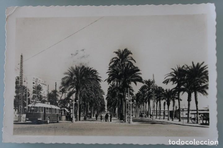 Postales: ANTIGUAS POSTALES ALICANTE CASTELLON: PLAZA Mª AGUSTINA, AVENIDA REY DON JAIME, PASEO GOMIS AÑOS 50 - Foto 3 - 82909520