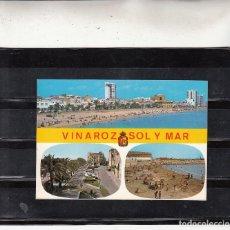 Postales: Nº 44 VINAROZ. PASEO Y PLAYA. Lote 84582284