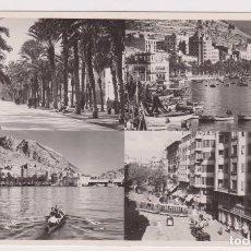 Postales: ALICANTE FOTO SANCHEZ. RECUERDO DE ALICANTE. 1953. PERFECTO ESTADO. Lote 84997656