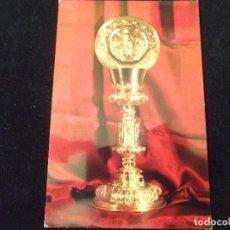 Postales: VALENCIA-V24-BOCAIRENTE-MUSEO PARROQUIAL-CALIZ DE SAN JUAN RIBERA. Lote 85184008