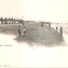 Postales: VALENCIA PLAYA DEL CABAÑAL HAUSER Y MENET 1016.. Lote 86217028