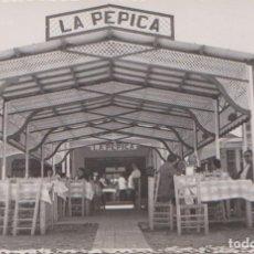 Postales: VALENCIA - VISTA DEL HOTEL-RESTAURANTE LA PEPICA. Lote 86684936