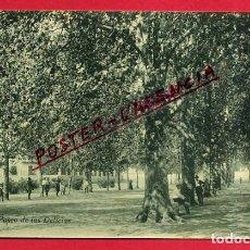 Postales: POSTAL VALENCIA, UTIEL , PASEO DE LAS DELICIAS , ORIGINAL, P87137. Lote 87338208