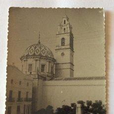 Cartes Postales: POSTAL FOTOGRÁFICA. VISTA PARCIAL DE LA PLAZA DEL CAUDILLO. CARCAGENTE. VALENCIA.. Lote 87563572
