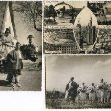 Postales: LOTE DE 3 POSTALES DE VALENCIA, ANIMADAS JDP Y GARCÍA GARABELLA. Lote 87591736