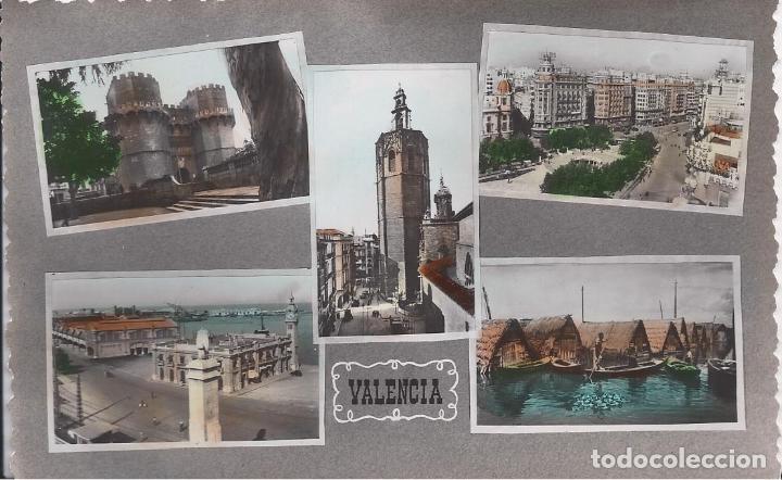 VARIAS VISTAS. VALENCIA. (COMUNIDAD VALENCIANA). POSTALES : EDICIONES ARRIBAS. COLOREADA. (Postales - España - Comunidad Valenciana Moderna (desde 1940))