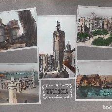 Postales: VARIAS VISTAS. VALENCIA. (COMUNIDAD VALENCIANA). POSTALES : EDICIONES ARRIBAS. COLOREADA.. Lote 87694032