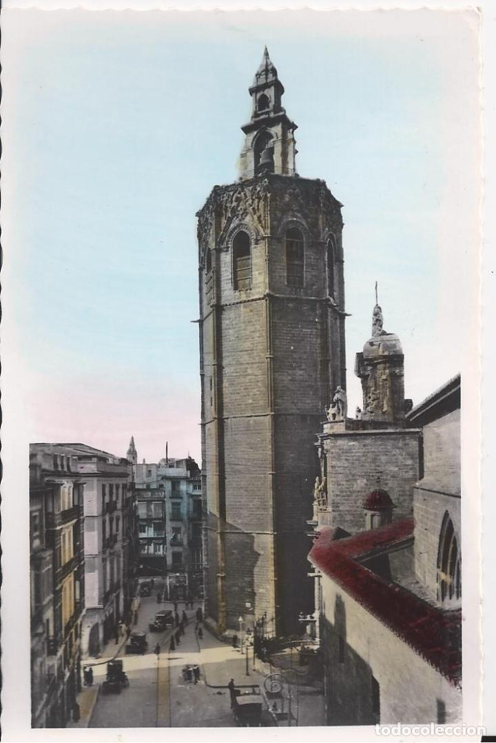 TORRE DEL MIGUELETE. VALENCIA. (COMUNIDAD VALENCIANA). POSTALES : CRIS - ADAM Nº 70. COLOREADA. (Postales - España - Comunidad Valenciana Moderna (desde 1940))