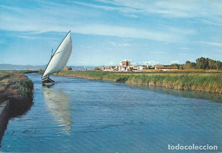 CANAL DE LA ALBUFERA. EL SALER. VALENCIA. (COMUNIDAD VALENCIANA). POSTALES :GARCIA GARRABELLA. Nº 19 (Postales - España - Comunidad Valenciana Moderna (desde 1940))