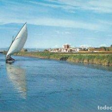 Postales: CANAL DE LA ALBUFERA. EL SALER. VALENCIA. (COMUNIDAD VALENCIANA). POSTALES :GARCIA GARRABELLA. Nº 19. Lote 87697364