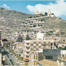 Postales: POSTAL : PASEO DR ALEMANY Y SANTUARIO. CULLERA. VALENCIA. Lote 87709968