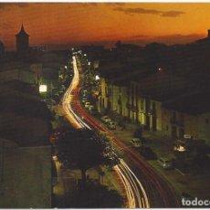 Postales: VISTA NOCTURNA DE BENICASIM. CASTELLON.. Lote 87714696