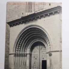 Postales: TARJETA POSTAL - VALENCIA. PUERTA BIZANTINA DE LA CATEDRAL - FOTOTIPIA THOMAS Nº 57. Lote 88811576