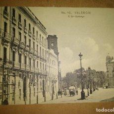 Postales: VALENCIA, SANTO DOMINGO, EDICION EBP. Lote 89385820