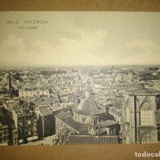 Postales: VALENCIA, VALENCIA VISTA PARCIAL, EDICION EBP. Lote 89386576