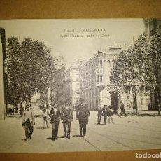 Postales: VALENCIA, PASEO DEL PICADERO Y CALLE DE COLON, EDICION EBP. Lote 89388096