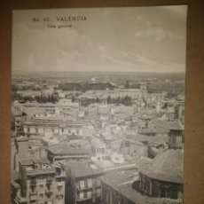 Postales: VALENCIA, VISTA GENERAL, EDICION EBP. Lote 89390520