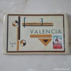 Postales: FOTOGRAFIAS ARTISTICAS VALENCIA SERIE B COMPLETA J. DURA 20 POSTALES SIN CIRCULAR POSTAL. Lote 89839812