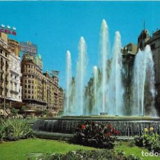 Postales: == A48 - POSTAL - VALENCIA - PLAZA DEL CAUDILLO - DETALLE - CIRCULADA. Lote 90054820