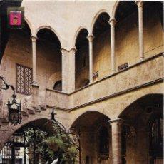 Postales: == A53 - POSTAL - VALENCIA - PALACIO DE LOS ALMIRANTES - PATIO - SIN CIRCULAR. Lote 90056116