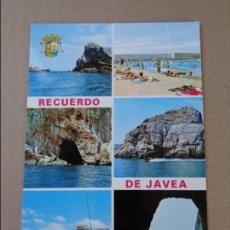 Postales: POSTAL VISTAS RECUERDO DE JAVEA ( VALENCIA ) - AÑOS 60 - SIN CIRCULAR. Lote 90398515