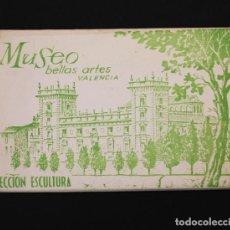 Postales: 10 POSTALES ACORDEON MUSEO BELLAS ARTES DE VALENCIA, SECCION ESCULTURA, GARCI AGARRABELLA, POSTAL. Lote 90820005