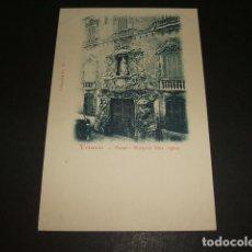Postales: VALENCIA PALACIO MARQUES DOS AGUAS. Lote 90990685