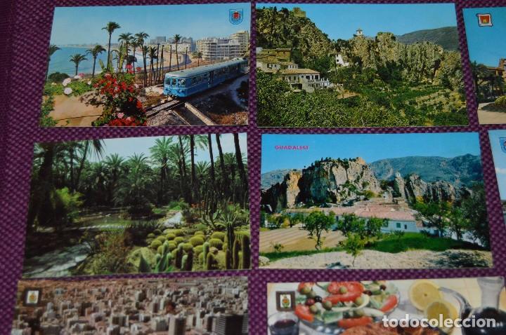 Postales: LOTE DE 42 POSTALES ANTIGUAS - ALICANTE Y PROVINCIA - PRECIOSAS, MUY ANTIGUAS - AÑOS 60 - HAZ OFERTA - Foto 2 - 91577085