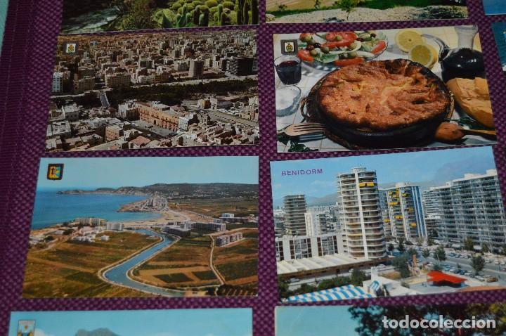 Postales: LOTE DE 42 POSTALES ANTIGUAS - ALICANTE Y PROVINCIA - PRECIOSAS, MUY ANTIGUAS - AÑOS 60 - HAZ OFERTA - Foto 3 - 91577085
