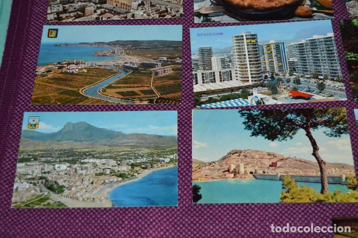 Postales: LOTE DE 42 POSTALES ANTIGUAS - ALICANTE Y PROVINCIA - PRECIOSAS, MUY ANTIGUAS - AÑOS 60 - HAZ OFERTA - Foto 4 - 91577085