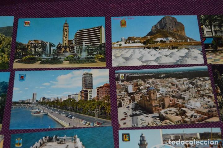 Postales: LOTE DE 42 POSTALES ANTIGUAS - ALICANTE Y PROVINCIA - PRECIOSAS, MUY ANTIGUAS - AÑOS 60 - HAZ OFERTA - Foto 5 - 91577085