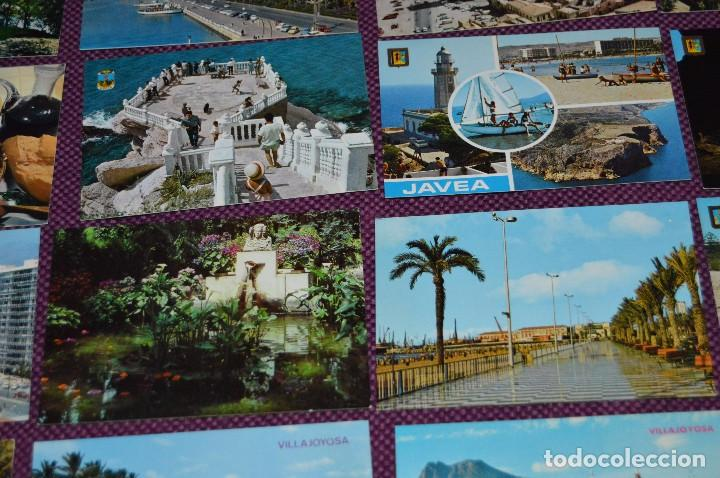 Postales: LOTE DE 42 POSTALES ANTIGUAS - ALICANTE Y PROVINCIA - PRECIOSAS, MUY ANTIGUAS - AÑOS 60 - HAZ OFERTA - Foto 6 - 91577085