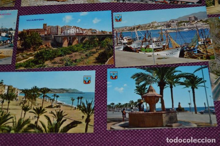 Postales: LOTE DE 42 POSTALES ANTIGUAS - ALICANTE Y PROVINCIA - PRECIOSAS, MUY ANTIGUAS - AÑOS 60 - HAZ OFERTA - Foto 10 - 91577085