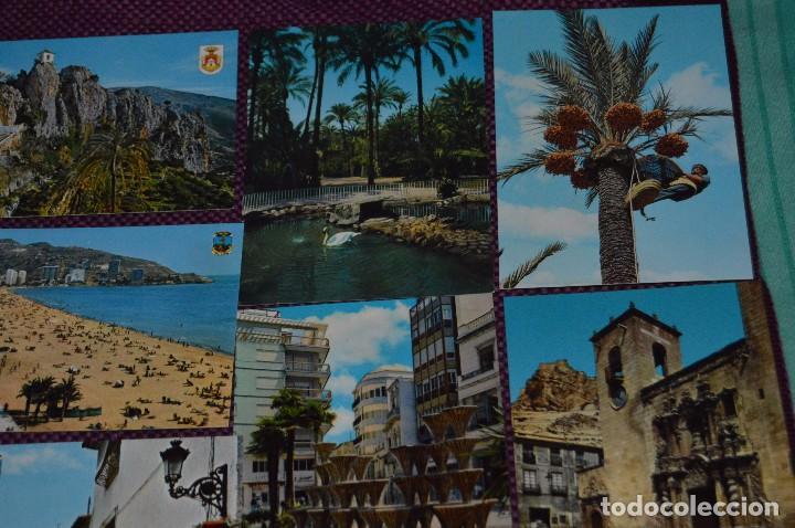 Postales: LOTE DE 42 POSTALES ANTIGUAS - ALICANTE Y PROVINCIA - PRECIOSAS, MUY ANTIGUAS - AÑOS 60 - HAZ OFERTA - Foto 11 - 91577085