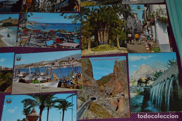 Postales: LOTE DE 42 POSTALES ANTIGUAS - ALICANTE Y PROVINCIA - PRECIOSAS, MUY ANTIGUAS - AÑOS 60 - HAZ OFERTA - Foto 13 - 91577085