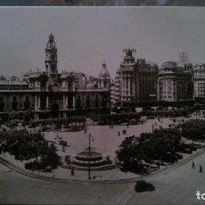 Postales: VALENCIA - PLAZA DEL CAUDILLO. Lote 91921530