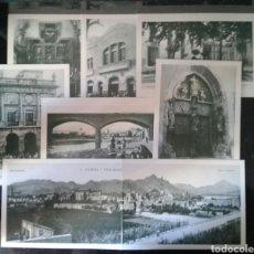 Postales: COLECCION DE 7 POSTALES DE GANDIA ANTIGUA. REPRODUCCIONES DE FOTOS DE I. LAPORTA. EN CARPETILLA.. Lote 92179163