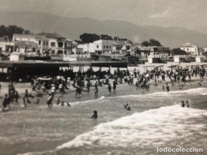 ANTIGUA POSTAL PLAYA DE GANDIA VALENCIA (Postales - España - Comunidad Valenciana Antigua (hasta 1939))